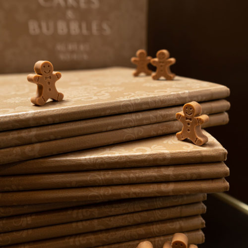 Chocolate Gingermen cakes and bubbles albert adria
